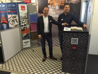 Messestand mit Messeboden Typ TOP TILE